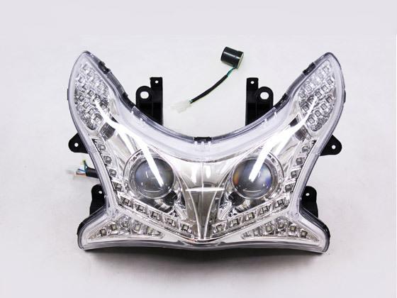 【5個限定】PCX125 PCX150 (JF28/KF12) プロジェクター式 ヘッドライト LED ウィンカーLEDウィンカーポジション リレー付
