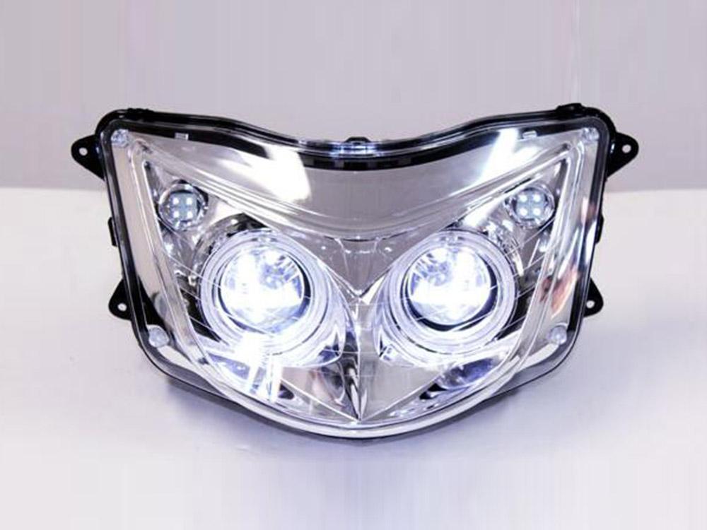 マジェスティ 250 2/C SG03J 白色LED付 プロジェクターレンズ ヘッドライト MAJESTY250