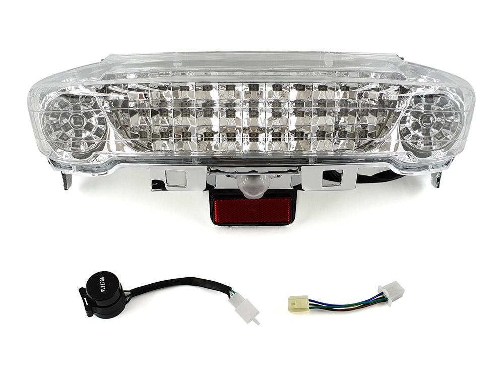 マジェスティ 250 2型/C型 SG03J ブリッジ型クリアレンズ LEDテール ユニット MAJESTY250