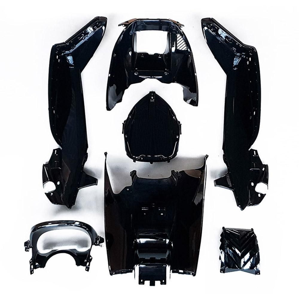 ★★マジェスティ 250 SG20J 4D9 スクーター インナーカウル 塗装済み 黒色 7点セット NEW MAJESTY250