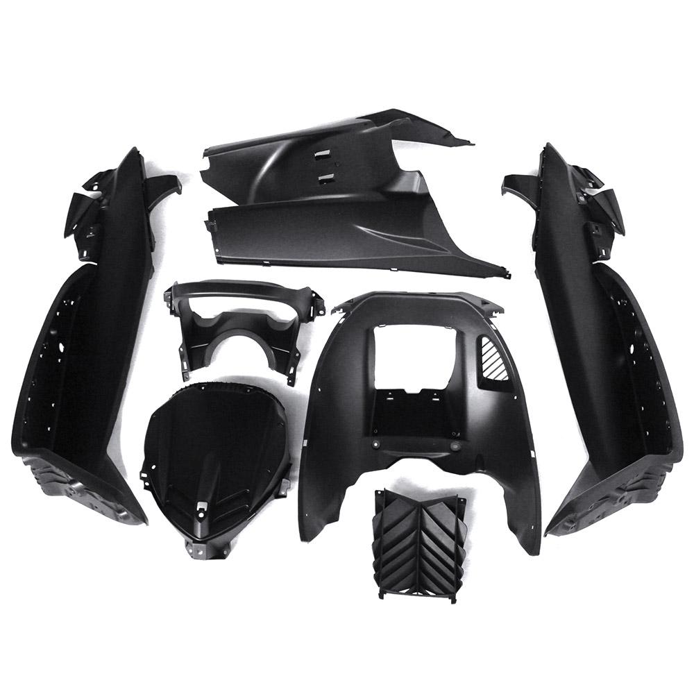 マジェスティ 250 SG20J 4D9 スクーター インナーカウル 塗装済み 黒艶消し 7点セット NEW MAJESTY250