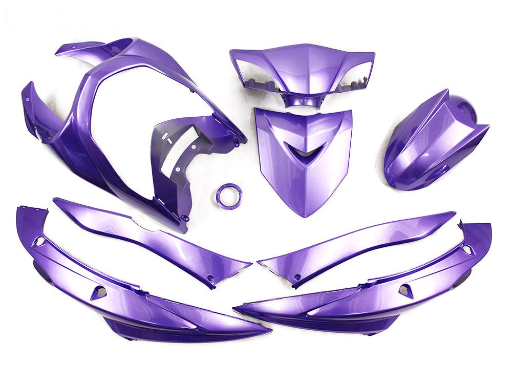 【特】ヤマハ シグナスX SE44J(28S) 外装カウル 9点セット 紫色ラベンダー