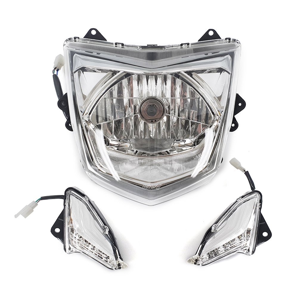 シグナスX(1YP) 社外品 ヘッドライト と デイライト コンビ 1式