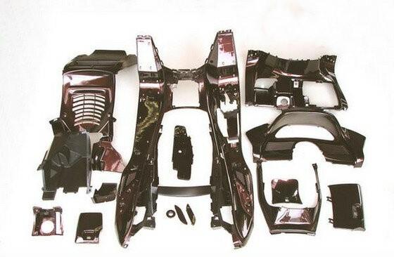 マジェスティ 250 2型/C型 SG03J 塗装済 スクーター インナー カウル茶色(ブラウン) セット1式 MAJESTY250