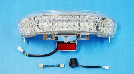 ヤマハ マジェスティ250 2/C SG03J ブリッジ型 クリアレンズ LED テール ユニット