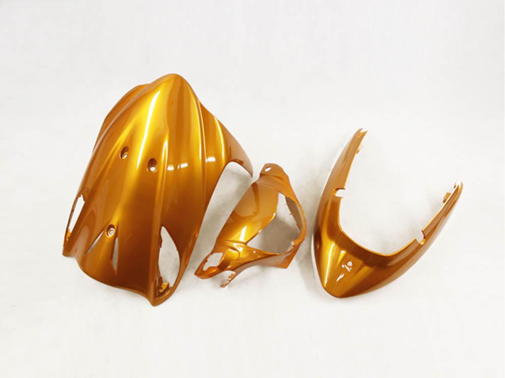 スズキ アドレスV125/G(CF46A/4EA) 外装カウル 3点セット 橙色オレンジ