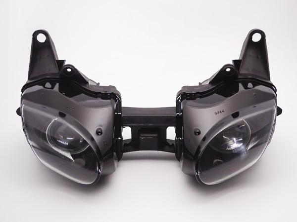 カワサキ ZX-6R (07-08)用 クリア 純正タイプ ヘッドライト