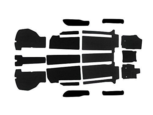 アルファード 30系 Sグレード ヴェルファイア 30系 Zグレード フロント リア ラゲッジ フロアマット 16枚