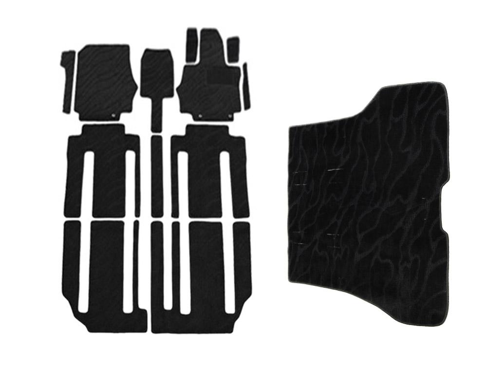 セレナ C27系 カーマット フロアマット ラゲッジマット セカンドシート仕様:ロングスライド 13枚セット