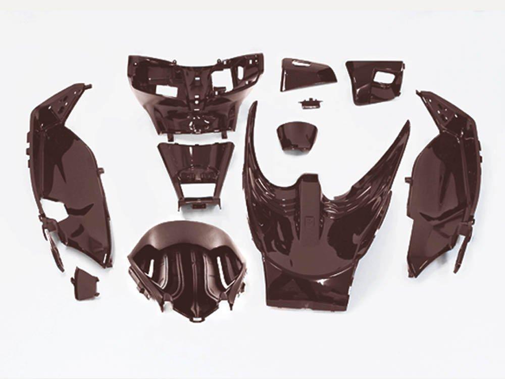 ホンダPCX125 インナーカウル1式 茶色艶あり塗装済み 11点Set