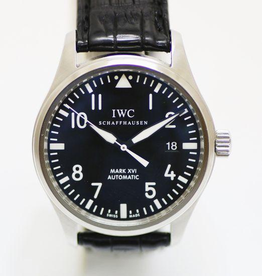 【質SHOPアデ川】IWC パイロットウォッチ マーク16 TW325501 腕時計 ブラック【中古】【USED】【送料無料】【質屋】【時計】【黒】【アデガワ】【北越谷】