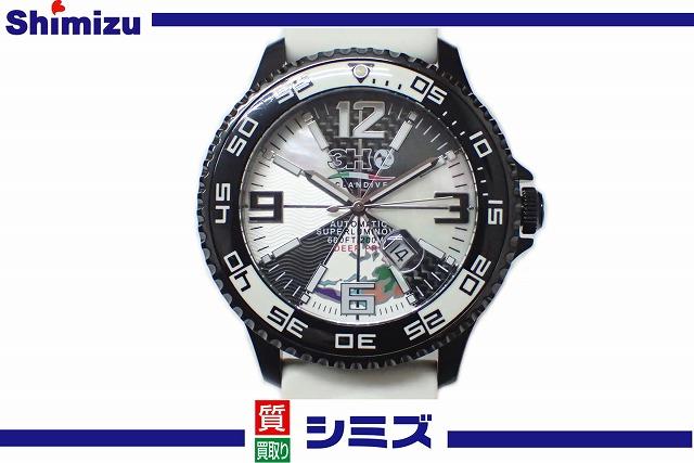 【3H】 トレアッカ メンズ腕時計 OCEANDIVER DEEP PRO オーシャンダイバー ディーププロ M1.NERO 自動巻 [M0037] ◆美品 ケース・保証書 替ベルト付◆ 【中古】