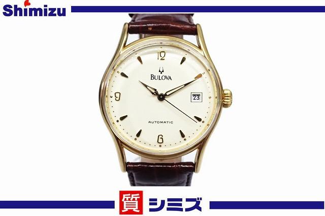 安い購入 【BULOVA】良品 ブローバ 自動巻 腕時計 ゴールドカラー, コレクターズ e169c67e