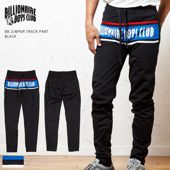 【26日までポイント10倍】【セール 10%OFF】BILLIONAIRE BOYS CLUB ビリオネアボーイズクラブ テーパードスキニー トラックパンツ / BBC BB JUMPER TRACK PANTS 891-1103