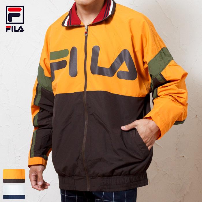 フィラ FILA Heritage ヘリテージ ナイロン トラックジャケット / Track Jacket 正規取扱店 【限定ライン】 90年代