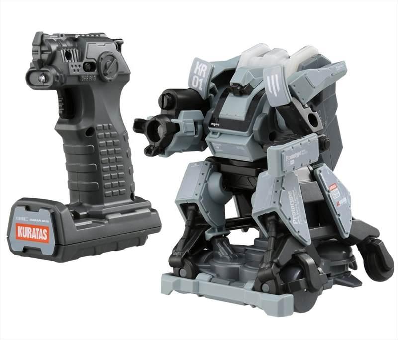 【送料無料】ガガンガン 水道橋重工 人型四脚陸戦型トイロボット クラタスモデル