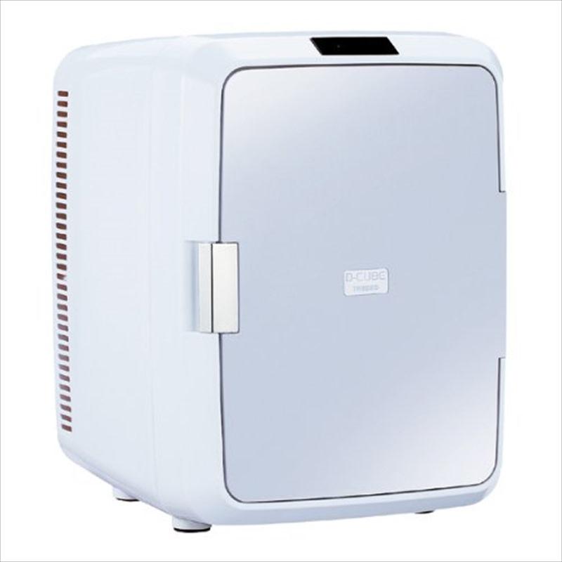 【送料無料】TWINBIRD 2電源式ポータブル電子適温ボックス(容量20L) グレー HR-D208GY