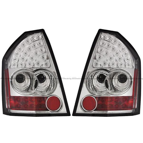 05-07y クライスラー 300C LED テールライト クローム