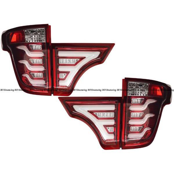 11-15y フォード エクスプローラー LED テールライト (レッド)