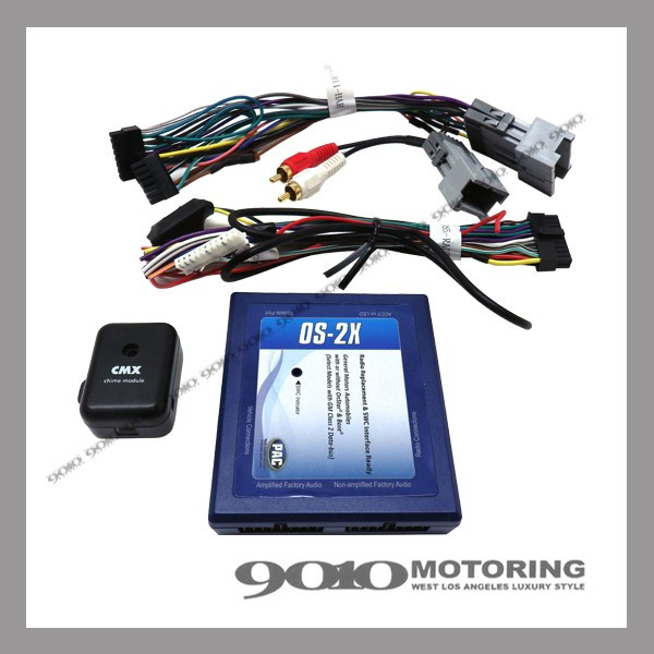 03-06y GM車 オーディオ ナビゲーション 取り付け/交換用 インターフェース PAC OS-2X BOSEサウンドシステム付車用