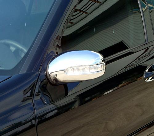 02-06y ベンツ Eクラス W211 前期 クローム ドアミラーカバー