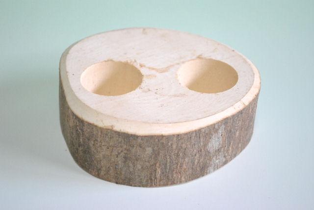 25%OFF 16gのゼリーがすっぽりはまる 堅木エサ皿16g用 信用 二穴 ゼリー2個付き
