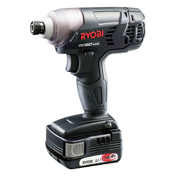 [新品税込] RYOBI/リョービ インパクトドライバ BID-1415 電池パック(14.4V、1【日本全国送料無料】【代引き発送不可】【ポイント消化にどうぞ】】 リョービ