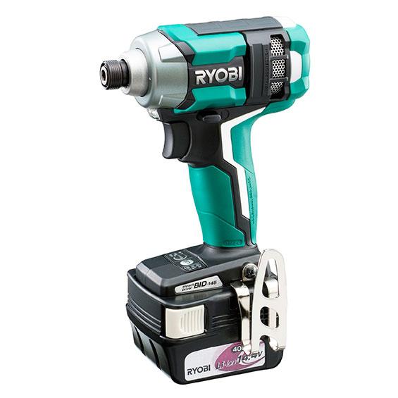 [新品税込] RYOBI/リョービ インパクトドライバ BID-145 電池パック(14.4V、4【日本全国送料無料】【代引き発送不可】【ポイント消化にどうぞ】】 リョービ