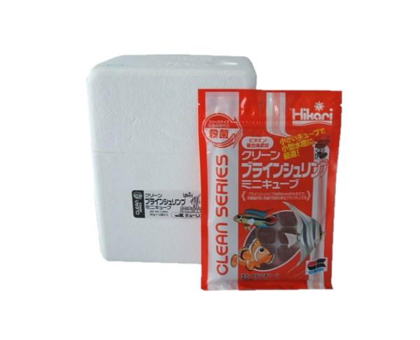 ビタミン含有 冷凍フード キョーリン クリーンブラインシュリンプミニキューブ 30g 12枚入 60 80 マーケット 200円 枚 冷凍エサ 1箱 激安