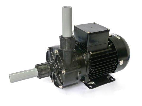 三相電機 マグネットポンプPMD-2571B2P ネジ接続 コンパクトボールバルブ2個付き