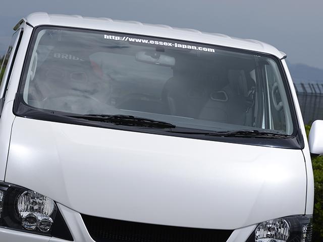 エセックス ワイパーガード■ABS製■ブラックマイカ(209)CRS シーアールエス ESSEX 200系ハイエース・レジアスエースナロー 標準
