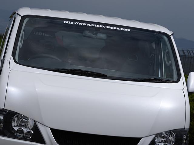 エセックス ワイパーガード■ABS製■ホワイトパール(070)CRS シーアールエス ESSEX 200系ハイエース・レジアスエースナロー 標準