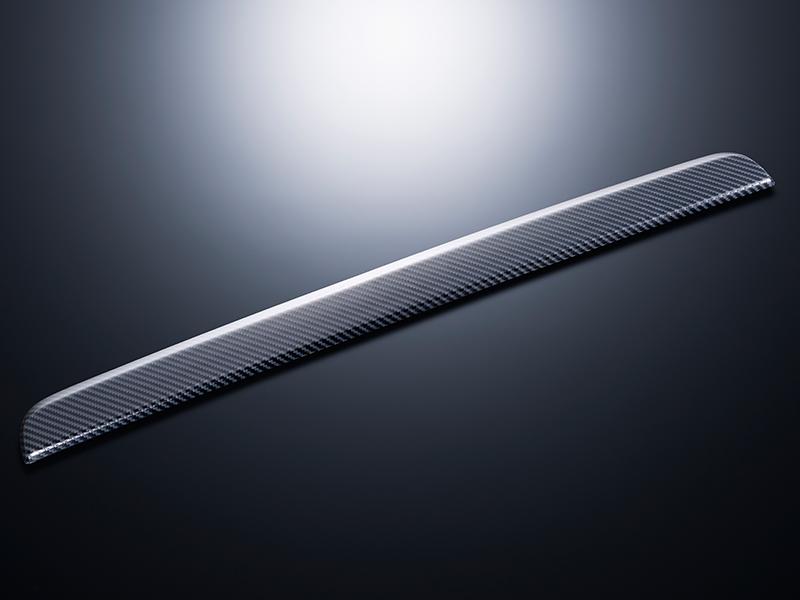 エセックス バックドアガーニッシュ■ABS製■カーボンレイヤー■ナロー・ワイド共通■スマートエントリー&スタートシステム車用CRS シーアールエスESSEX 200系ハイエース4型レジアスエース