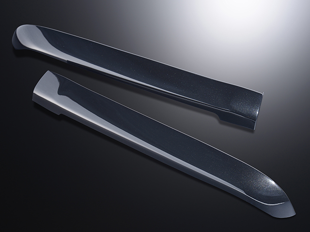 エセックス リアライナー■ABS製■ブラックマイカ(209)CRS シーアールエスESSEX 200系ハイエース1型2型3型4型【代引き不可】