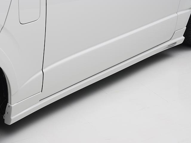エセックス サイドステップ■未塗装■FRP製CRS シーアールエス ESSEX 200系ハイエース・レジアスエースナロー 標準 ワイド