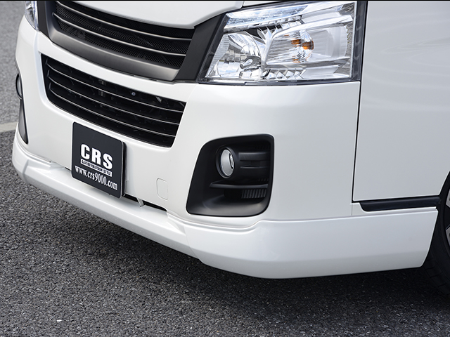シーアールエスESSEX NV350 エセックス フロントリップスポイラー■ABS製■未塗装CRS キャラバンノーマルボディ・標準【代引き不可】