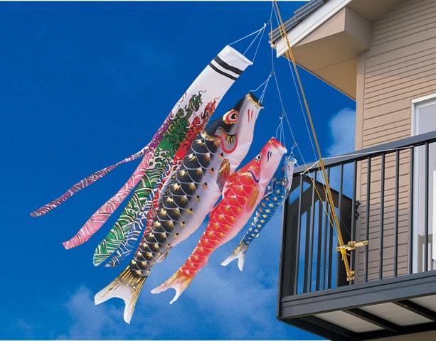 【特選】 最高級鯉のぼり 旭錦 雲竜吹流 シルクタッチポリエステル使用 1.5mセット 【smtb-KD】