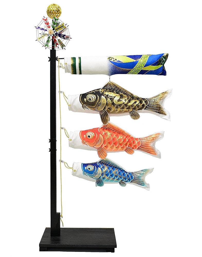 天音 祝室内鯉のぼり台付セット 【室内用こいのぼり】【こいのぼり 室内】【smtb-KD】【楽ギフ_のし】【楽ギフ_名入れ】