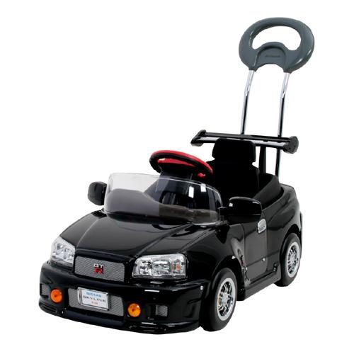 ミズタニ 押手付ペダルカー スカイラインGT-R R34 【smtb-KD】