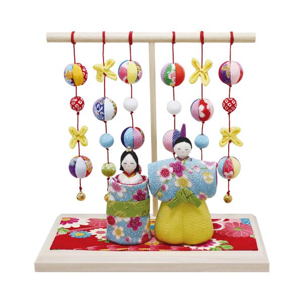 リュウコドウ 水色立雛 即納送料無料 几帳台付 雛人形 ひな人形 親王飾り 1-700 海外並行輸入正規品 平飾り