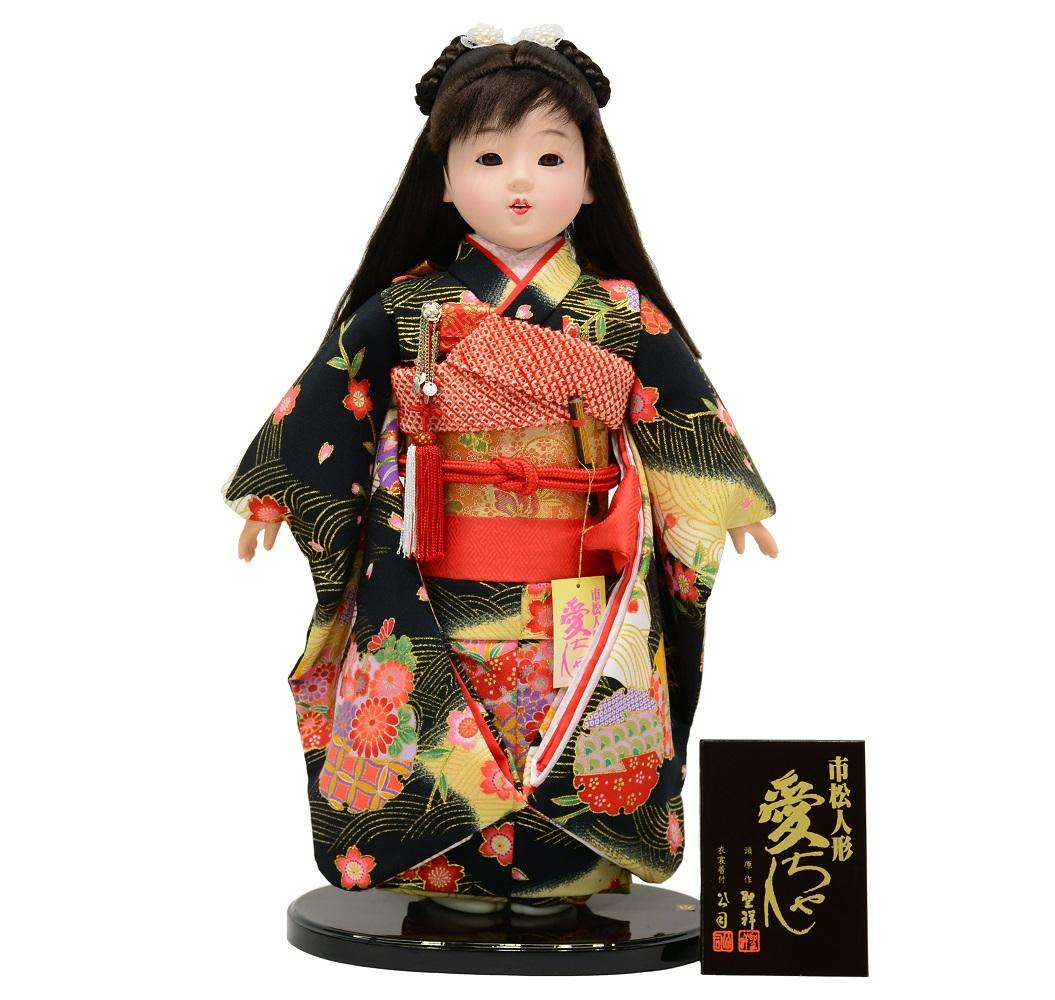市松人形 上友禅 愛ちゃん 13号 【smtb-KD】