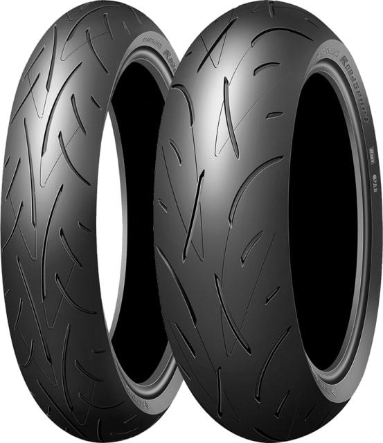 DUNLOP 180/55ZR17 MC 73(W) ROADSPORT リア TL(チューブレスタイヤ)