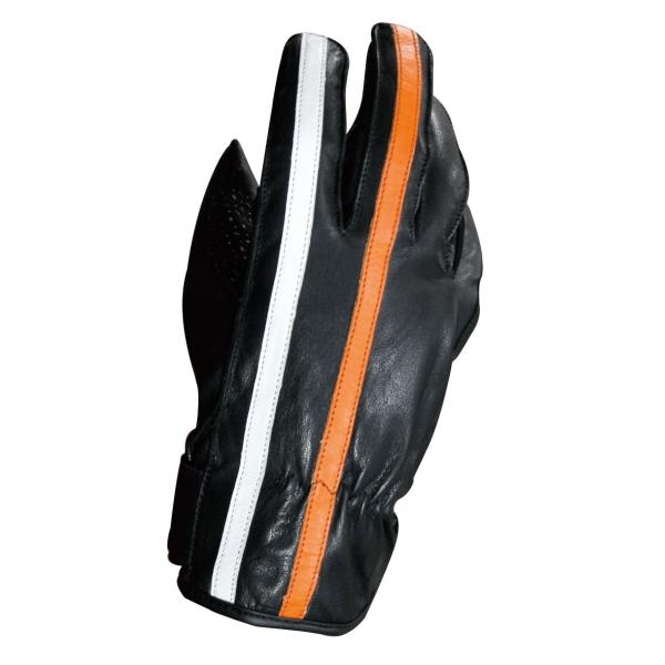 モトフィールド 春の新作 MFG-264 アウトレット ゴートウインターグローブ 送料無料 ブラック ホワイトオレンジライン