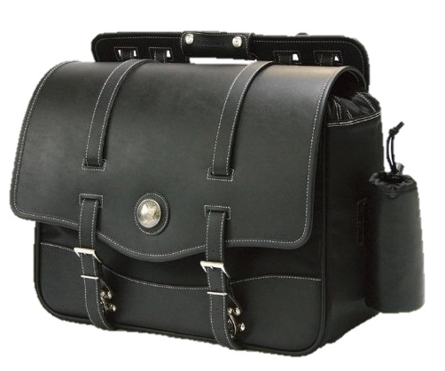 DEGNER(デグナー) ナイロン サドルバッグ NB-10 ブラック 22L 送料無料
