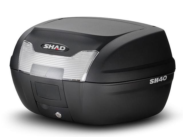 SHAD タイムセール 激安通販専門店 シャッド SH40 トップケース 送料無料 無塗装ブラック 40L