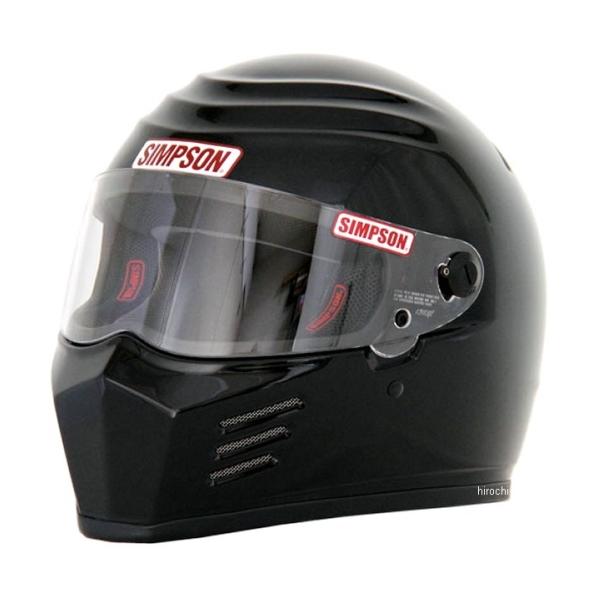 W特典 SIMPSON/シンプソン ヘルメット アウトロー OUTLAW ブラック(艶あり 黒) 送料無料