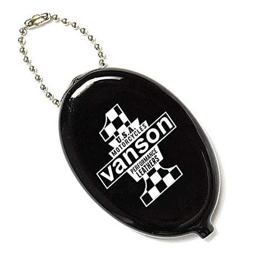 大人気 VANSON バンソン ラバーコインケース 新着セール ブラック VS18904