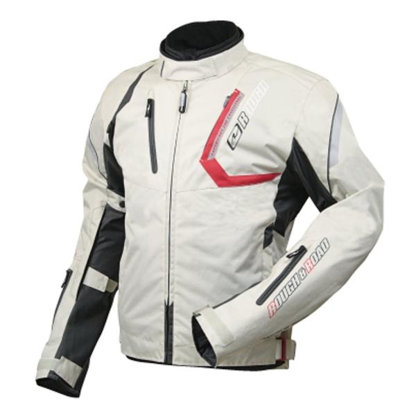 (セール 30%OFF) ラフ&ロード RR4006 SSFスポーツライドジャケット LLサイズ プラチナシルバー あす楽対応 送料無料