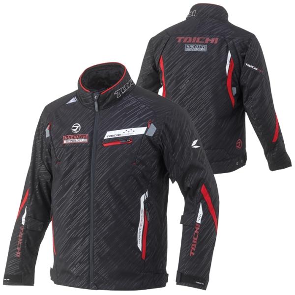 RSタイチ RSJ716 レーサー オールシーズン ジャケット ブラック/レッド (2020-21秋冬モデル) あす楽対応 送料無料