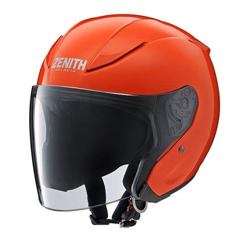 (セール 40%OFF) ヤマハ YJ-20 ZENITH ジェットヘルメット Mサイズ(57-58cm) ダークオレンジ あす楽対応 送料無料